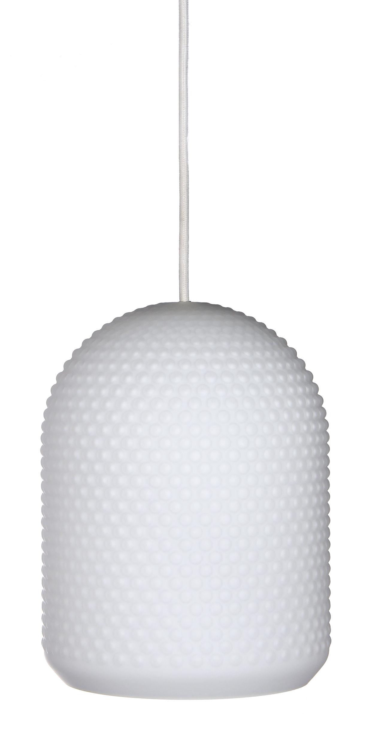 Luminaire - Suspensions - Suspension Shape 3 / Verre - Frandsen - Blanc - Verre