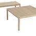 Table basse Workshop / Chêne - 86 x 86 cm - Muuto