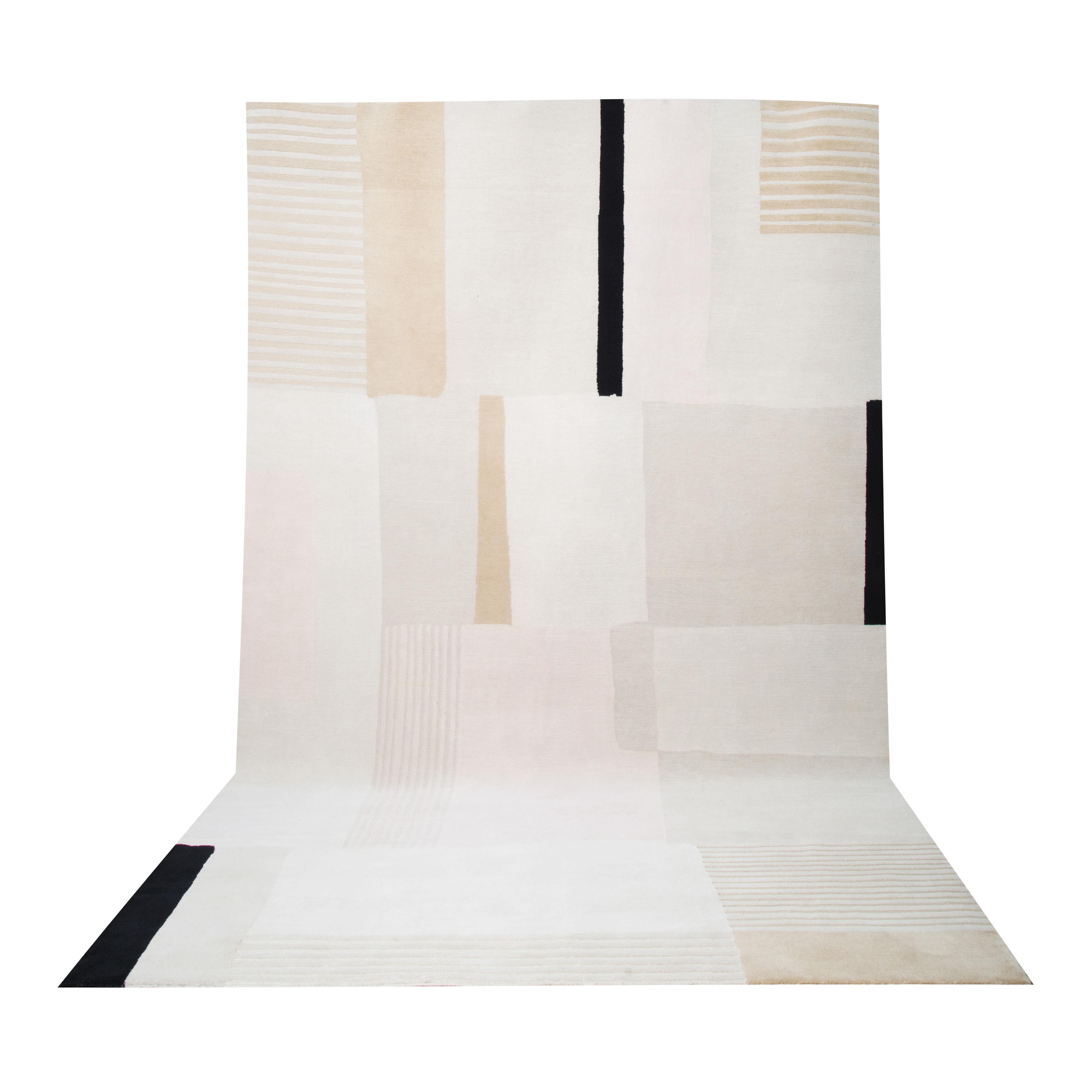 Déco - Tapis - Tapis Boro Large / 200 x 300 cm - Maison Sarah Lavoine - Beige - Coton, Laine