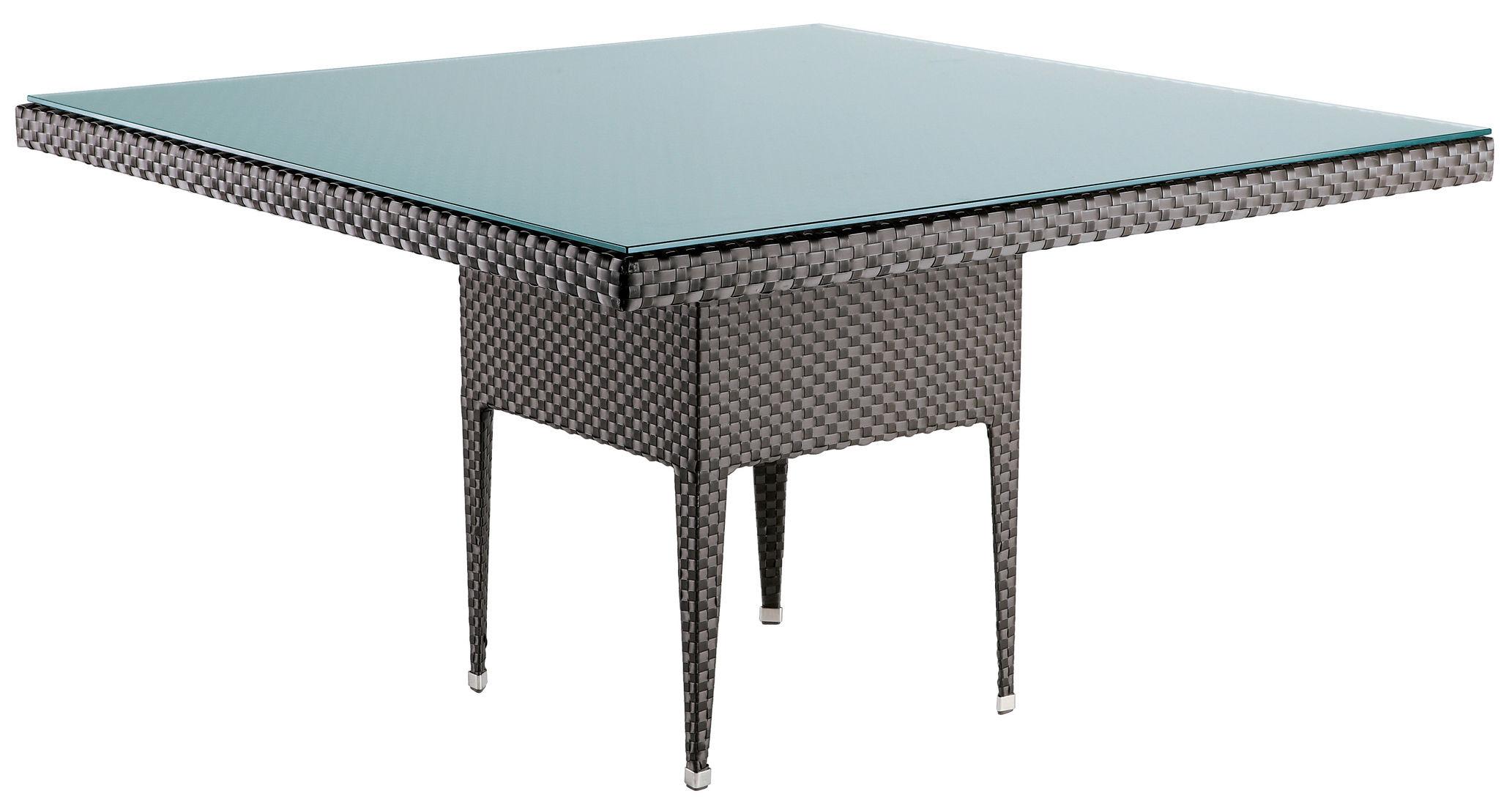 Scopri tavolo da giardino Transatlantik -Quadrata, Wengé - 140 x 140 ...