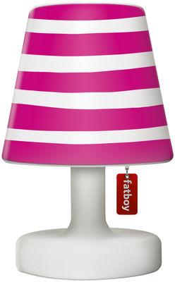 Abat-jour Cooper Cappie / Pour lampe Edison the Petit - Fatboy rose en matière plastique