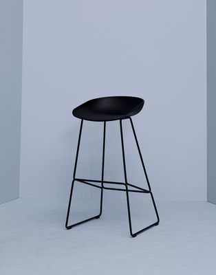 Bar Stool About A Stool Aas 38 By Hay Black Made In