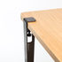 Base leg with clamp system / H 75 cm - To create table & desk - TipToe