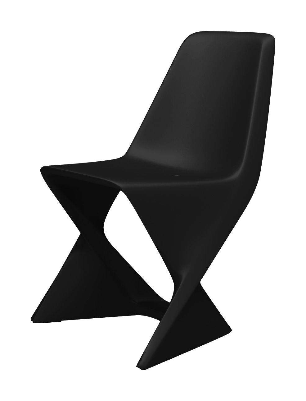 Chaise Iso Qui est Paul ? - Noir - l 48.5 x h 80 | Made In Design