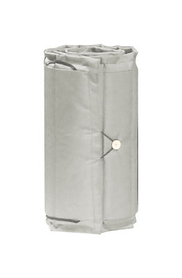 Outdoor - Sun Loungers & Hammocks - Cushion - For Bistro sun lounger - 171 x 44 cm by Fermob - Grey - Foam, Polyester cloth