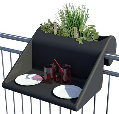 Outdoor - Coffee Tables - Balkonzept End table by Rephorm - Graphit - Polythene
