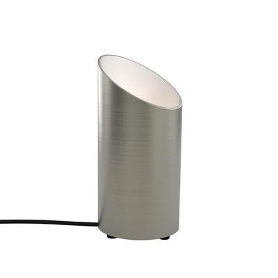 Lighting - Floor lamps - Cut Floor lamp - / Ø 12 x H 26 cm by Astro Lighting - Matt nickel - Aluminium
