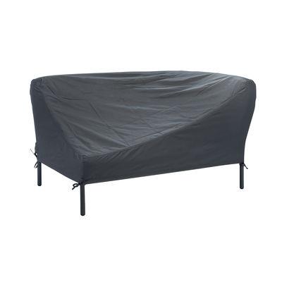 Jardin - Canapés de jardin - Housse de protection / Pour canapé angle droite - Houe - Gris foncé / Canapé droite - Tissu polyester