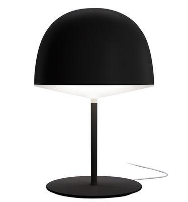 Illuminazione - Lampade da tavolo - Lampada da tavolo Cheshire - - H 53 cm di Fontana Arte - Nero - Ferro, policarbonato, Zamak