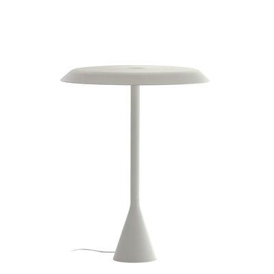 Illuminazione - Lampade da tavolo - Lampada da tavolo Panama LED - / Alluminio - H 45 cm di Nemo - Bianco - alluminio verniciato