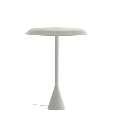 Lampe de table Panama LED / Aluminium - H 45 cm - Nemo blanc en métal