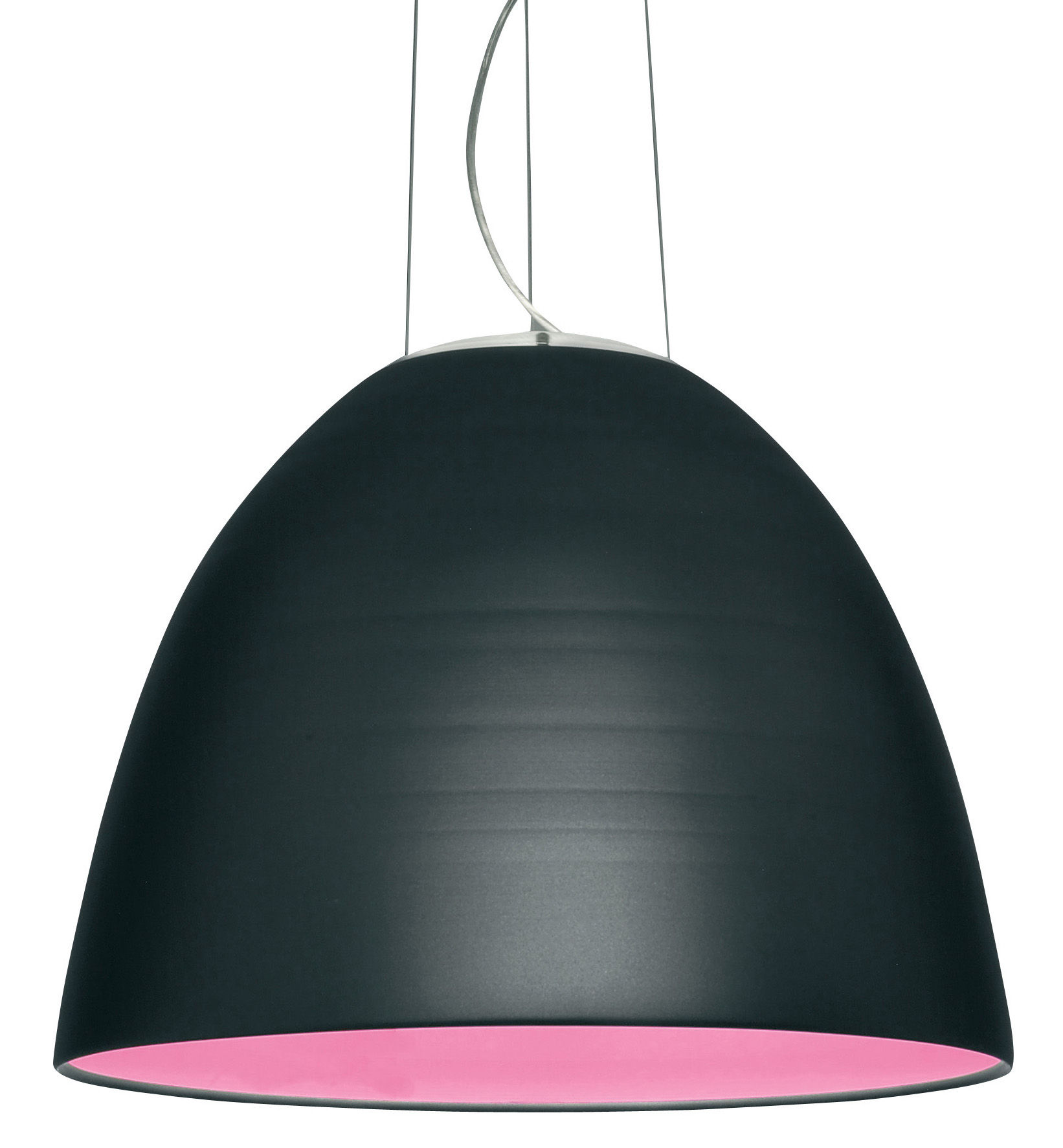 Lighting - Pendant Lighting - Nur Pendant by Artemide - Gray coat - Aluminium