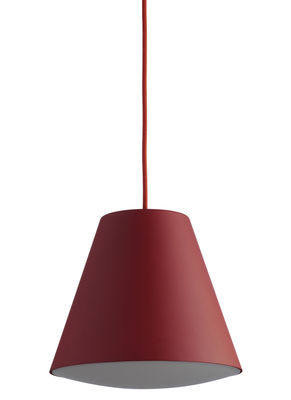 Lighting - Pendant Lighting - Sinker Pendant - Ø 23 x H 19 cm by wrong.london - Red - ABS, Acrylic