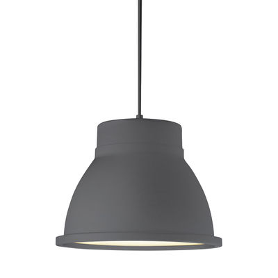 Leuchten - Pendelleuchten - Studio Pendelleuchte - Muuto - Grau - Aluminium