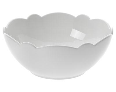 Tischkultur - Salatschüsseln und Schalen - Dressed Schale Ø 15 cm - Alessi - Schale Ø 15 cm - weiß - Porzellan