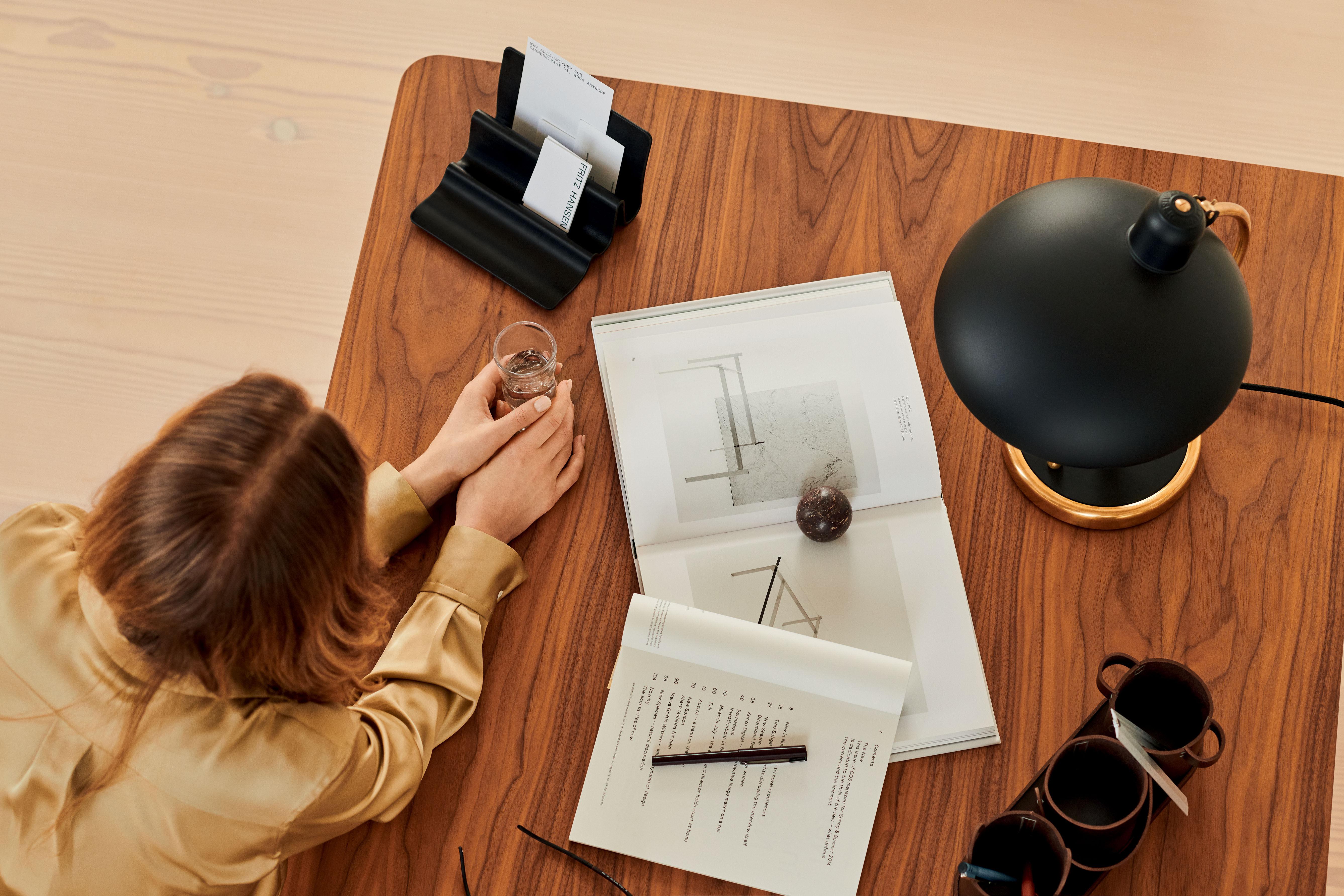 Schreibtisch Organizer Leder 2021