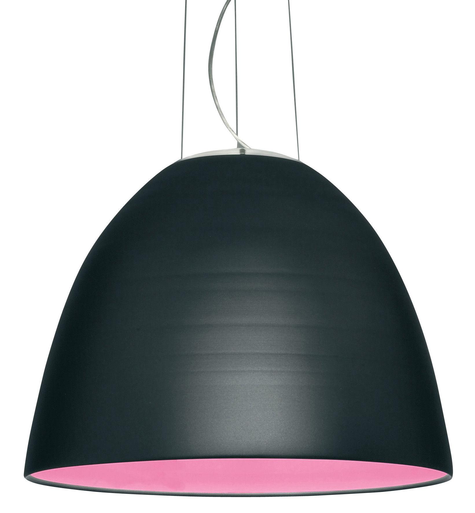 Illuminazione - Lampadari - Sospensione Nur di Artemide - Grigio antracite - alogena - Alluminio