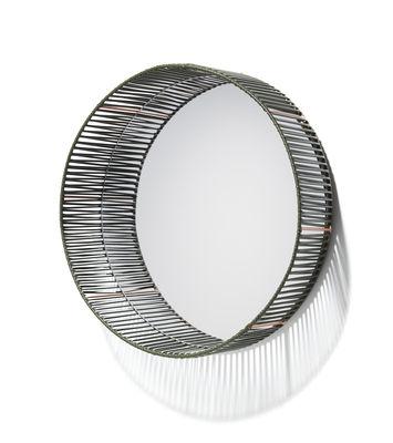 Image of Specchio Cesta - Rotondo / Ø 49 cm di ames - Verde - Materiale plastico