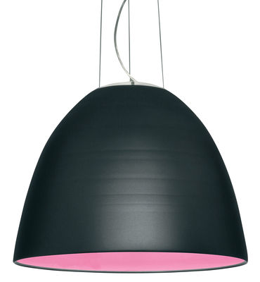 Luminaire - Suspensions - Suspension Nur / Ø 55 cm - Artemide - Gris anthracite - Halogène - Aluminium