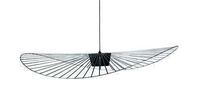 suspension vertigo petite friture noir 140 cm made in design. Black Bedroom Furniture Sets. Home Design Ideas