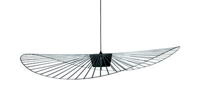 Suspension Vertigo Small / Ø 140 cm - Petite Friture noir en matière plastique