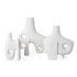 Paradox Medium Vase - / Porcelain - H 25 cm by Jonathan Adler