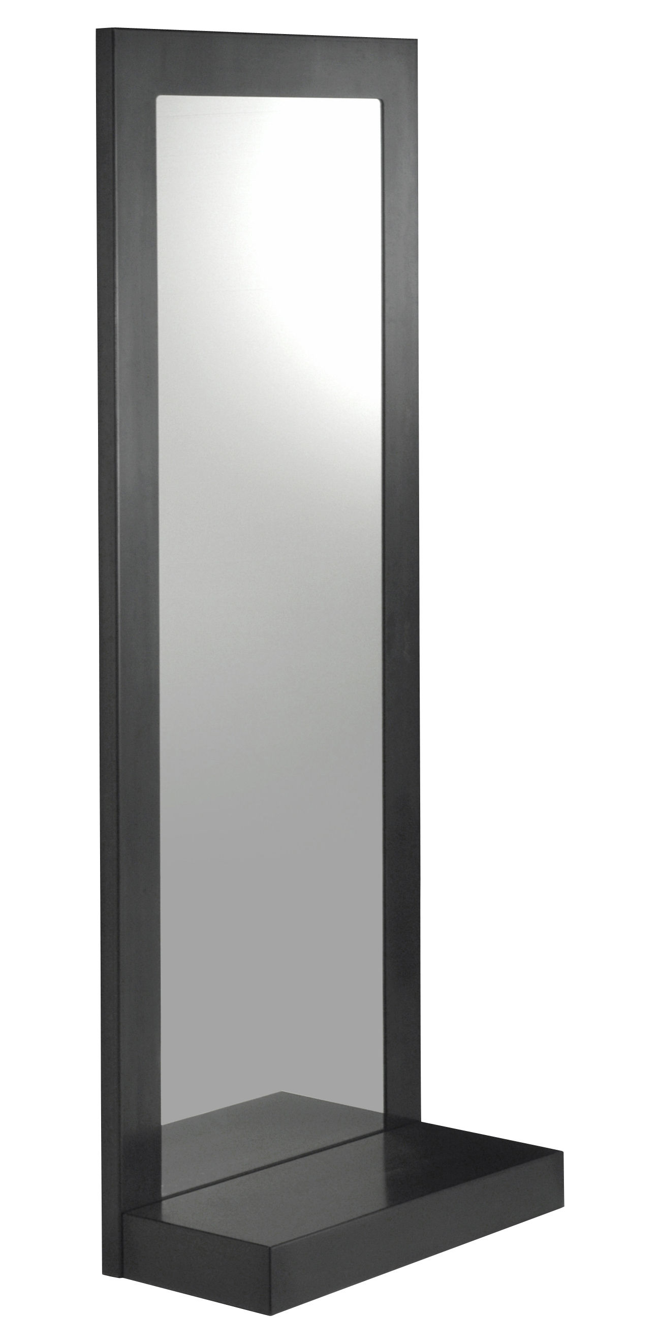 Furniture - Mirrors - Frame Wall mirror by Zeus - 180 x 70 cm - Phosphated steel