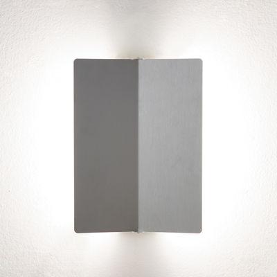 Applique à volet pivotant plié LED /Charlotte Perriand, 1962 - Nemo aluminium en métal