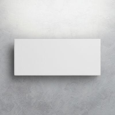 Luminaire - Appliques - Applique Long light LED / L 20 X H 8 cm - Flos - Blanc mat - Aluminium, PMMA