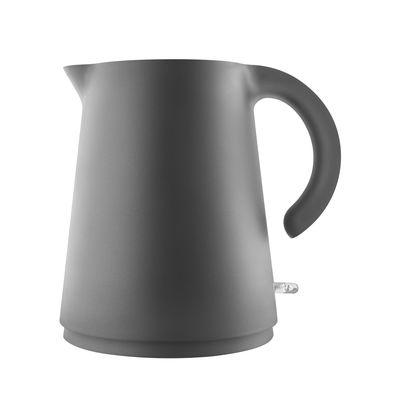 Cucina - Teiere e Bollitori - Bollitore elettrico Rise - / 1,2 L di Eva Solo - Nero - Acciaio inossidabile, Plastica