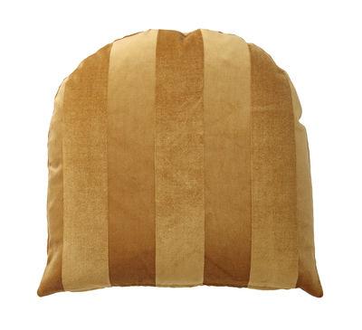 Decoration - Cushions & Poufs - Arcus Cushion - / 50 x 50 cm - Velvet by AYTM - Amber - Foam, Velvet