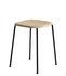Soft Edge 70 Hocker / H 47 cm - Holz & Metall - Hay