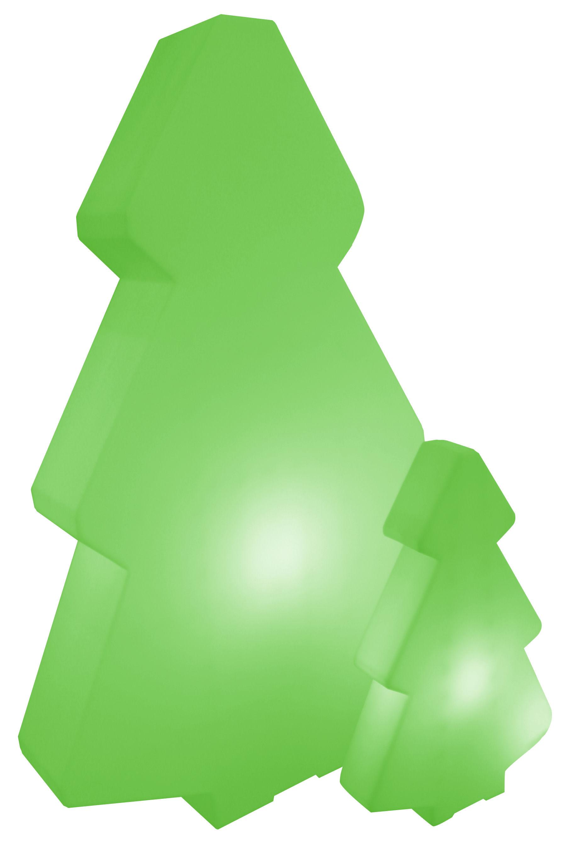Arredamento - Mobili luminosi - Lampada a stelo Lightree Outdoor - per l'esterno di Slide - Verde - Interno/esterno - polietilene riciclabile