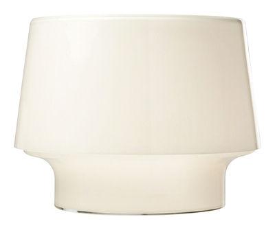 Lampe de table Cosy in White Large Verre soufflé Muuto blanc opalin en verre