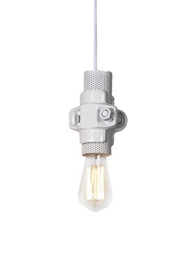 Lighting - Pendant Lighting - Nando Pendant - H 15 cm by Karman - White - Metal