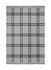 Plaid Checked Wool - / A quadri - Grigio di Ferm Living