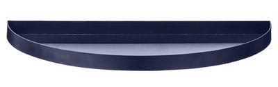 Arts de la table - Plateaux - Plateau Unity / Demi-cercle - L 33 cm - AYTM - Bleu navy - Fer peint