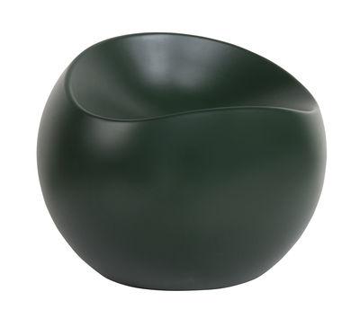 Pouf Ball Chair / Finition mate - XL Boom vert en matière plastique