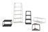 Eiffel Shelf - / 6 trays - H 182 cm by Hay