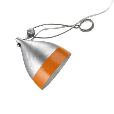 Spot à pince Cornette - Tsé-Tsé orange/métal en métal