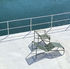 Palissade Sun lounger - / R & E Bouroullec - Steel by Hay