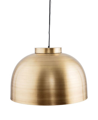 Luminaire - Suspensions - Suspension Bowl Large / Laiton - Ø 50 cm - House Doctor - Large / Laiton - Laiton