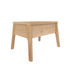 Table de chevet Air / Chêne massif - 1 tiroir - Ethnicraft