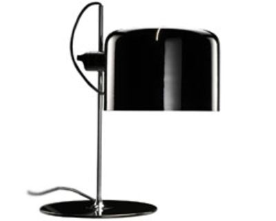 Lighting - Table Lamps - Coupé Table lamp by O luce - Black - Varnished metal