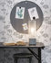 Memphis Table lamp - / Cement & iron by It's about Romi