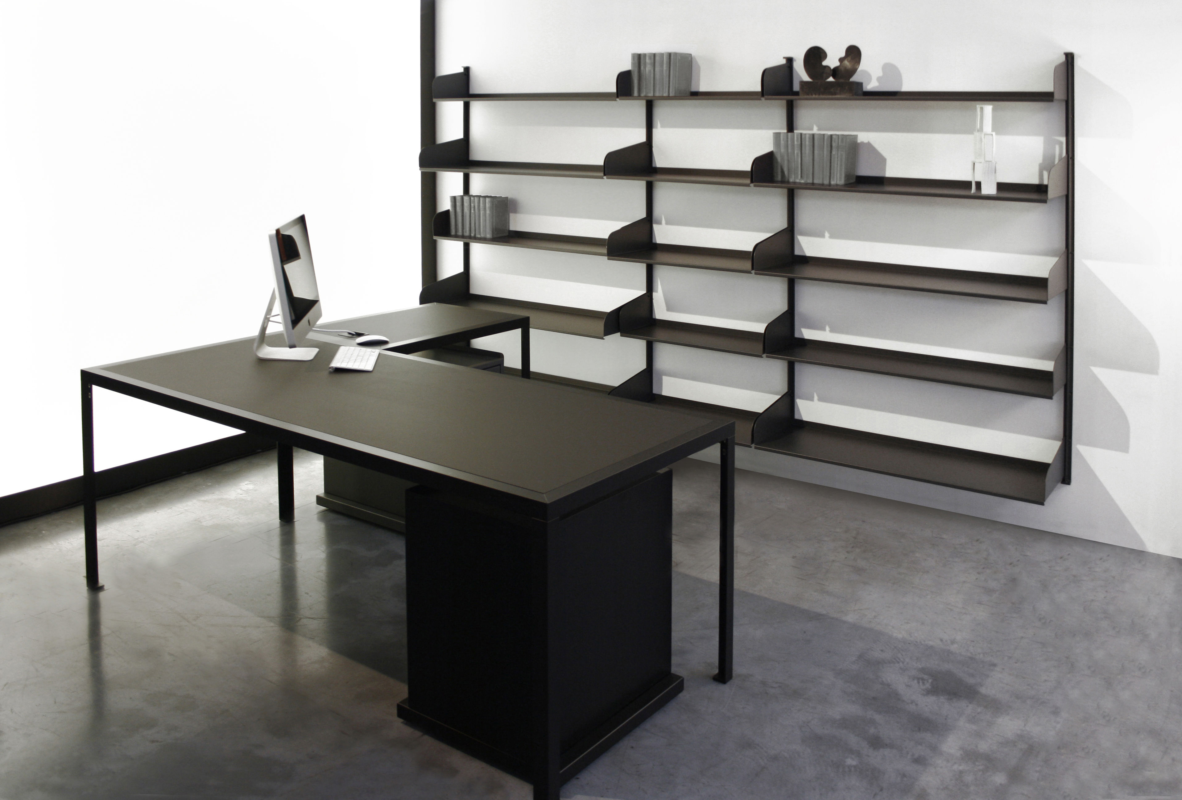 Table tavolo 280 x 120 cm noir zeus