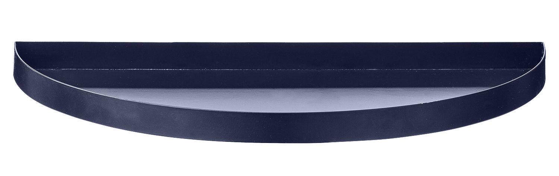 Tischkultur - Tabletts - Unity Tablett / Halbkreis - L 33 cm - AYTM - Dunkelblau - Fer peint