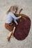 Tappeto Fruiticana - Fraise - / Small - Tessuto a mano di Ferm Living