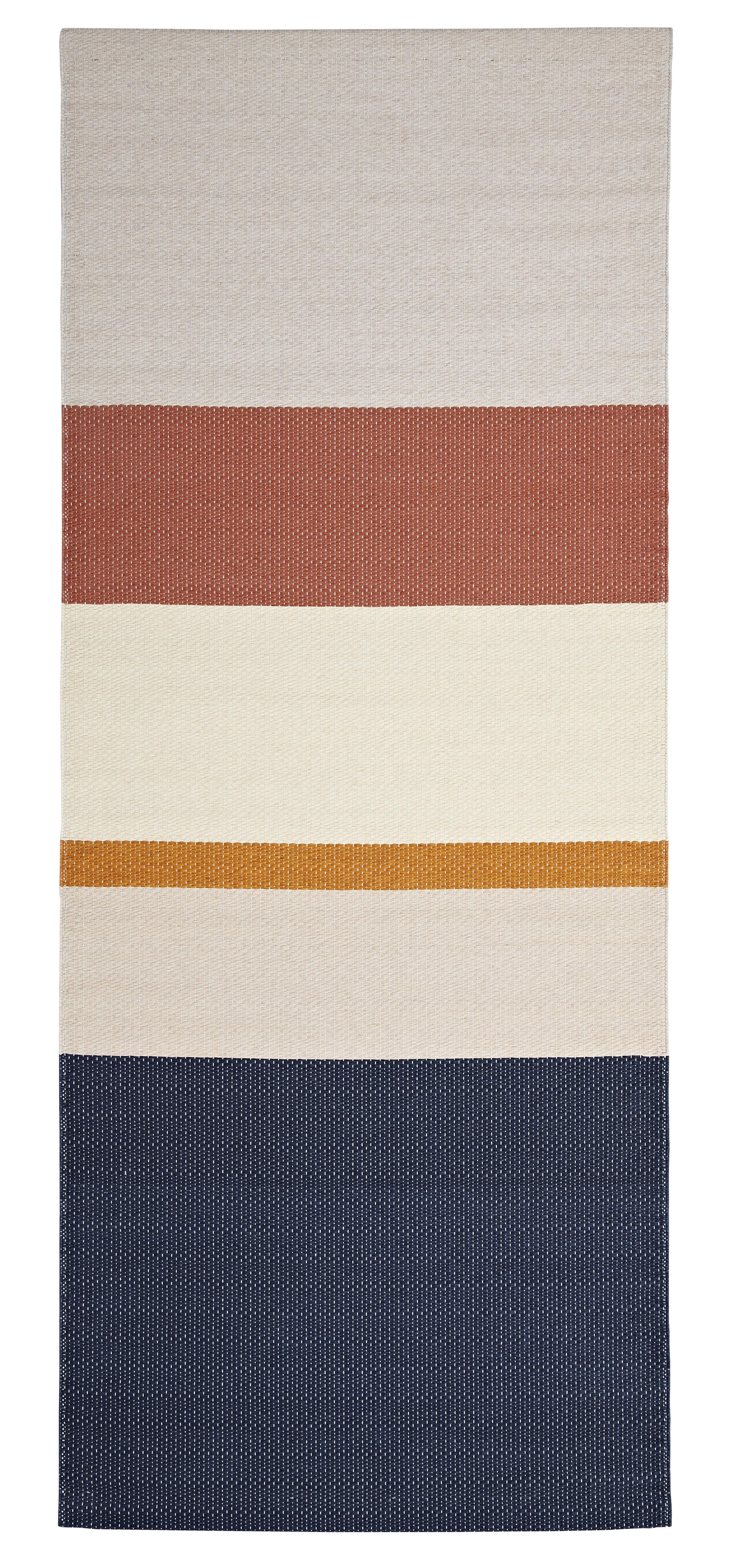 Interni - Tappeti - Tappeto Paper / 80 x 200 cm - 100 % carta - Hay - Polvere di cannella - Carta