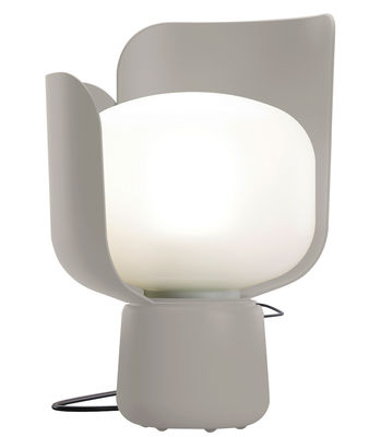 Blom Tischleuchte - H 24 cm - Fontana Arte - Grau